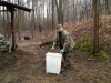 Wiosenne sprzątanie strzelnicy 03.2013